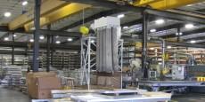 warehouse of aluminum plate products - clinton aluminum